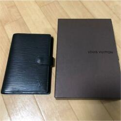 Louis Vuitton Epi Notebook Cover Black m73773165321 Pre-owned From Japan