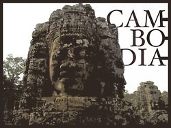 Decoration Poster.Cambodia.Home Wall art.Travel shop.Dorm interior design.11386