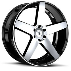 Status Empire 9 5x22 6x135 Rims For Ford F150 Raptor