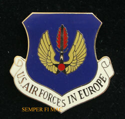 Us Air Force In Europe Usafe Ramstein Afb Beret Hat Lapel Pin 3rd 17th Usaf