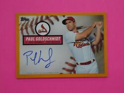 Paul Goldschmidt 2019 Topps Brooklyn Collection Auto 20/25 Card Bca-pg