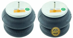 Pair Of Double Convoluted Air Spring Bag Replace 2b9-229 Firestone W01-358-6897