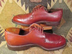 Lee Kee Custom Made Golf Shoes Made In Hong Kong Size 10-10.5
