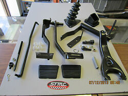 Chevelle El Camino 4 Speed Clutch Brake Pedal Assembly Conversion Kit 68-72