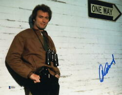 Clint Eastwood Signed Autograph 11x14 Photo - Rare Image Movie Icon Beckett