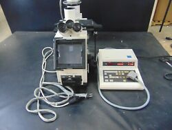 Carl Zeiss Axiovert 405m Inverted Microscope W/ Hbo 50 Objectives And Controller