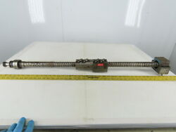 Mori Seiki Sl-1a 42 Ball Screw Assembly From A Numerical Control Lathe Cnc
