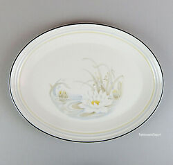 Royal Doulton Hampstead 13 Oval Platter Superb Condition Fresh Flowers Ls1053