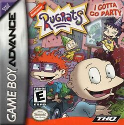 Nickelodeon Rugrats: I Gotta Go Party for Nintendo Game Boy Advance GBA Tested $2.99
