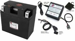 Shorai Combo Lfx21a6-bs12 + Charger Sho-bms01 Lithium Ion Battery