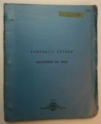 Fantastic Voyage / Harry Kleiner 1964 Screenplay, Microscopic Submarine Injected