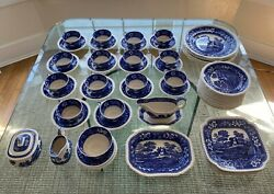Vintage Copeland Spode's Tower England China Set - 62 Piece - Great Condition