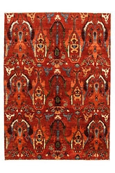 Hand Knotted Super Fine Red Kazak Sheep Wool 284x208cm Area Rug Carpet 9and0393x6and0398ft