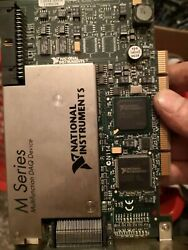 1 Pc Used 80 Analog Inputs Of Ni Pci-6255 Data Acquisition Card 779546-01