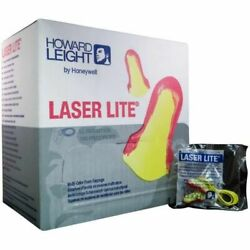 Howard Leight Hearing Protection Laser Lite Nrr 32 - 100 Pair W/ Cord Ms-92265