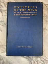 1931 Antique Literature Book Countries Of The Mind