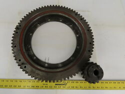 Avon 7932 20 Slewing Ring Bearing W/79t Outer Gear And 17t Pinion Gear