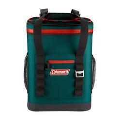 Coleman 24 Can High Performance Leak Proof Soft Cooler Backpack Evergreen $93.61