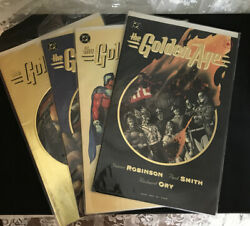 Dc Comics Elseworlds The Golden Age Comic Books Complete Set Of 4