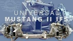 New Tci Universal Mustang Ii Weld-on Clip Subframe 57.5 Or 60 Track Width@