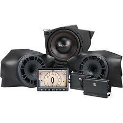 Mb Quart Tuned Audio Package Stage 3 800w Polaris Rzr Ride Command Source 14-20
