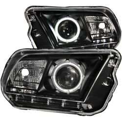 121323 Anzo Headlight Lamp Driver And Passenger Side New Coupe Lh Rh For Mustang
