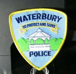 Patch Retired Waterbury Vermont Police Department Patch