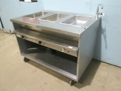 And039randell H.d. Commercial Nsf Ss Electric 3 Hot Wells Kitchen Serving Line