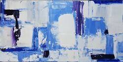 Gallery Papillon - Out Of The Blue -oil On Wood Panel- 12x24