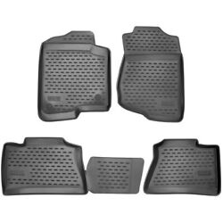 74-21-41011 Westin Floor Mats Front New Black For Jeep Renegade 2015-2018