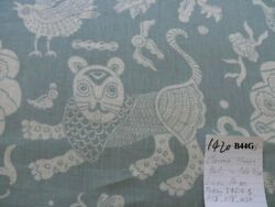 By Yd Clarence House Mythical Animals Bali Aqua Blue Robbinand039s Egg Linen Msrp160