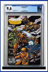 Armorines 10 Cgc Graded 9.6 Valiant April 1995 White Pages Comic Book