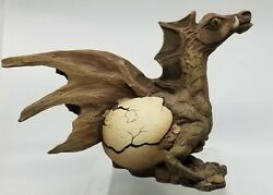 Rick Cain Wizard Dragon Sprout Ii 1315/5000 Limited Edition Sculpture