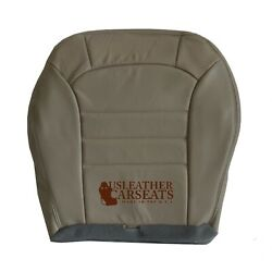 2002-2004 Jeep Liberty Driver Side Bottom Leather Seat Cover In Light Taupe Tan