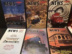 Marklin Insider Club News Magazine For 2004 Complete Year 6 Issues Railroading