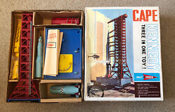 Jr21 Project Sword Cape Kennedy Set Boxed 1960s Space Set Boxed With Inserts