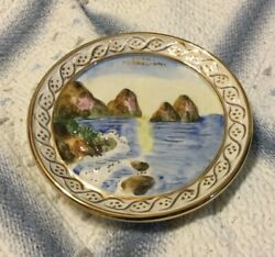 13 Capodimonte Platter Or Wall Plate-excellent Condition Collectible