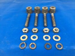 Set Of Rotax 277 377 447 503 532 582 618 Engine Mounting Studs And Hardware Rotax