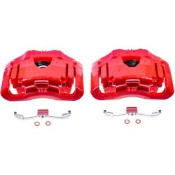 S2962 Powerstop Brake Calipers 2-wheel Set Front Driver And Passenger Side Lh Rh