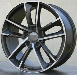Set4 20x9.0 5x112 Et25mm New Wheels Rims Audi A5 S5 A7 S7 A8 Sq5 Rs5 Rs6 Rs7