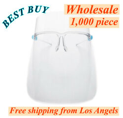 Full Face Shield Wholesale 1000 Pack Protection Cover Guard Reusable Glasses