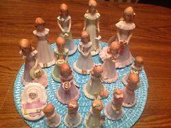 Precious Moments Growing Up Birthday Girl Figurines Baby - 16