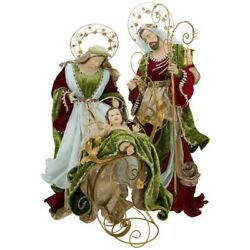 Mark Roberts 2020 Collection Grand Holy Family 38-50 Inches Set Of 2 Figurines