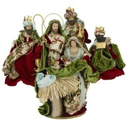 Mark Roberts 2020 Collection Nativity Of Venice Green Set Of 4 Figurines