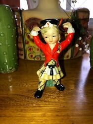 VINTAGE FIGURINE BAGPIPES BAG PIPES SCOTTISH LEFTON NAPCO