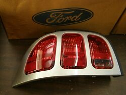 Nos Oem Ford 1996 1997 1998 Mustang Tail Light Lamp Assembly Silver Lh Cobra Gt