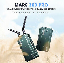 Hollyland Mars 300 Pro Dual Hdmi 300ft Wireless Image Video Transmission System