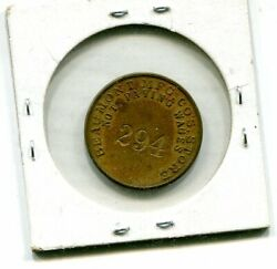 Beaumont Mfg Co Store Spartanburg Sc Good For 25 Trade Token 294 Incused Br 24