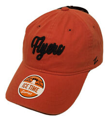 """Zephyr Nhl Philadelphia Flyers Scroll"""" Curved Bill Unstructured Washed Hat Nwt"""