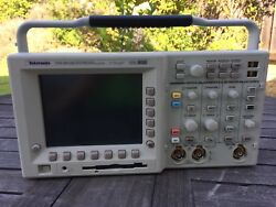 Very Low Use-hours Calibrated Tektronix Tds 3012b Digital Oscilloscope 100mhz